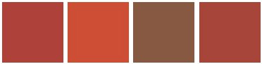 red and brown colors